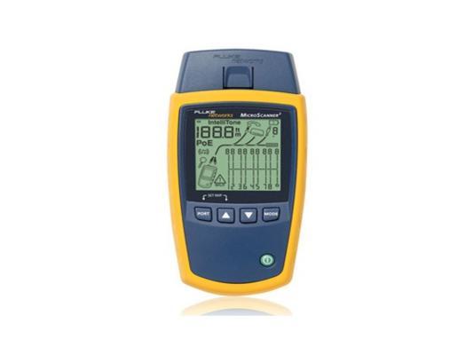 Кабельный тестер MicroScanner2 Cable Verifier Fluke MS2-100 RJ11/RJ45