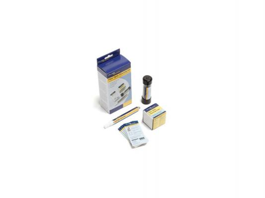 Набор для очистки оптики Fluke NFC-KIT-CASE Fiber Optic Cleaning Kit: Case Cube Pen 1.25+2.5 Swabs 10 Cards