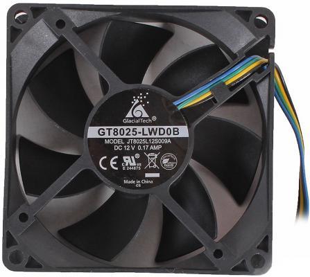 Вентилятор для корпуса GlacialTech CF8025-W 1000-2300rpm 80mm 16-29.9dBa 4pin втулка вентилятор polaris psf 40 rc w