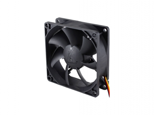 Вентилятор для корпуса GlacialTech CF8025-W 1000-2300rpm 80mm 16-29.9dBa 4pin втулка