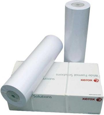 Бумага Xerox 36 A0 914мм х 45м 90г/м2 рулон с покрытием для струйной печати 450L90114 бумага hp 36 a0 914мм х 91 4м 90г м2 рулон для струйной печати ярко белая c6810a