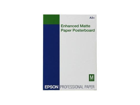 Фотобумага Epson C13S041637 A3 260г/м2 матовая 20 листов фотобумага epson c13s041316 a3 250г м2 глянцевая 20 листов