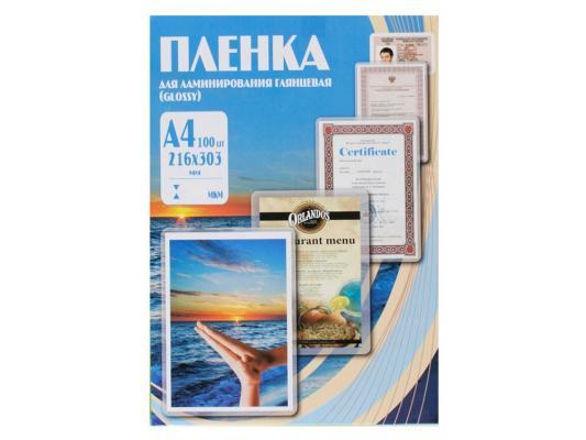 Пленка для ламинирования Office Kit PLP100123 А4 60мик 216х303 100шт глянцевая