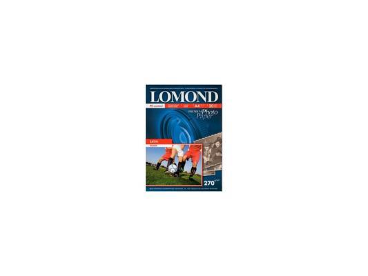 Фотобумага Lomond A4 270г/м2 20л сатин 1106200