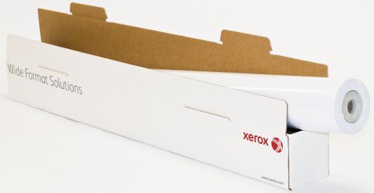 Бумага Xerox 42 A0+ 1067мм х 45м 100г/м2 рулон матовая для струйной печати 450L91411 бумага для плоттера xerox 1067мм х 40м 120г м2 рулон для струйной печати 450l90117