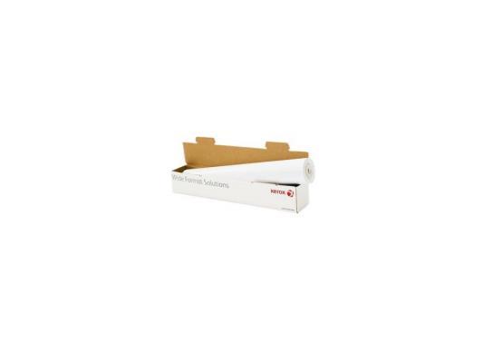 Бумага для плоттера Xerox 1067мм х 50м 75г/м2 рулон для струйной печати 450L90128 бумага для принтера xerox xrperf3