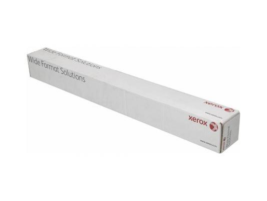 Бумага для плоттера Xerox 914мм x 50м 80г/м2 рулон для струйной печати 450L90503
