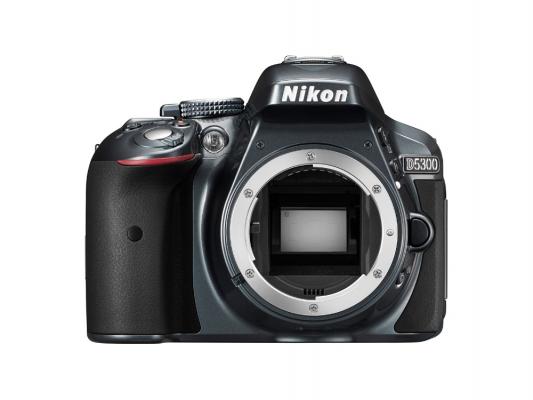 Зеркальная фотокамера Nikon D5300 BODY 24.1Mp черный