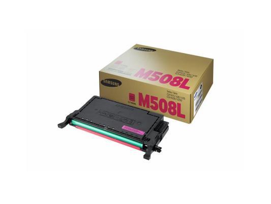 Картридж Samsung CLT-M508L для CLP-670ND пурпурный 4000стр картридж samsung clt m609s для clp 770nd пурпурный