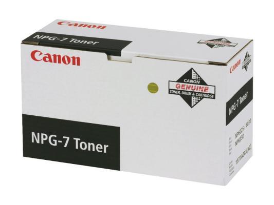 Картридж Canon NPG-7 для NP6025 6330 6330 черный 10000стр canon npg 1