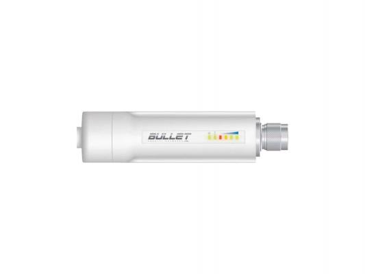 Точка доступа Ubiquiti Bullet M2 HP 802.11n 150Mbps 2.4GHz 28dBm разъем N BulletM2-HP от 123.ru