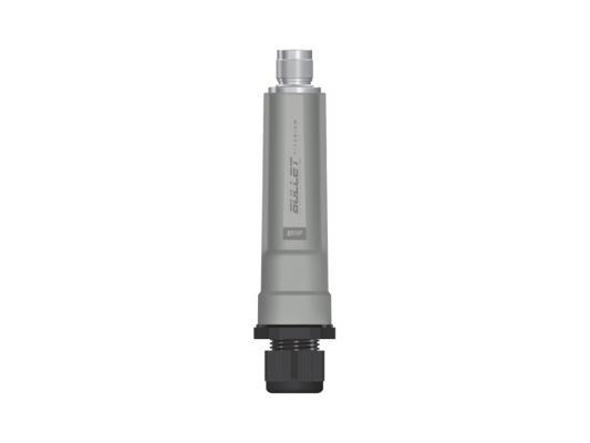 Точка доступа Ubiquiti Bullet M5 HP Titanium 802.11n 150Mbps 5GHz 28dBm разъем N BM5-Ti(EU) от 123.ru