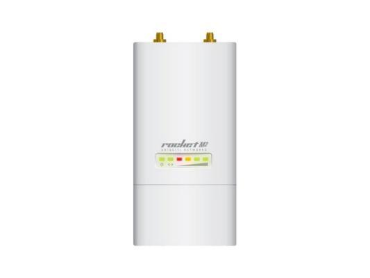 Точка доступа Ubiquiti RocKet M2 802.11n 150Mbps 2.4GHz 2xRP-SMA RocketM2(EU) мост wi fi ubiquiti nbe m2 13 nanobeam m2 802 11n 150mbps 2 4ghz 13dbi