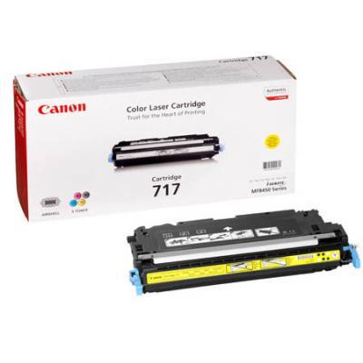 Картридж Canon 717Y для MF8450 желтый 4000стр картридж canon 717y для mf8450 желтый 4000стр