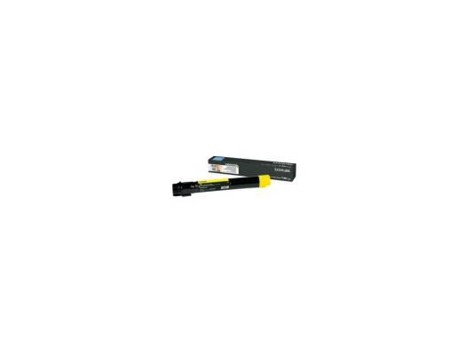 Тонер картридж Lexmark C950X2YG yellow для C950 lexmark 4079y yellow