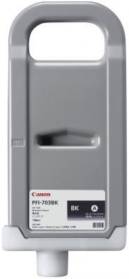 Картридж Canon PFI-703 BK для iPF815 825 черный