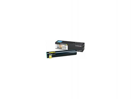 Картридж-тонер Lexmark C930H2YG yellow для С930 (24 000 стр) тонер картридж lexmark c950x2kg black для c950