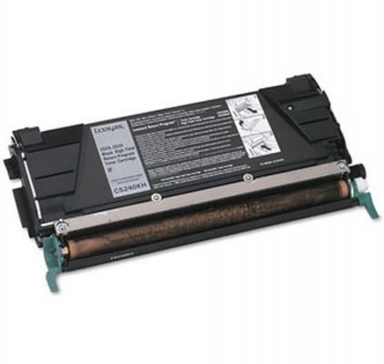 Картридж-тонер Lexmark C5240KH black C5x4 (8 000 стр) настольный компьютер gigabyte brix gb bace 3000