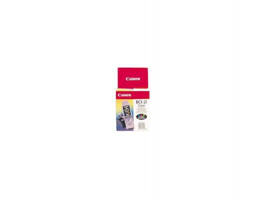 Картридж Canon BCI-21C для BJC2000 4000 4100 4200 4300 4400 4550 4650 5100 цветной 100стр