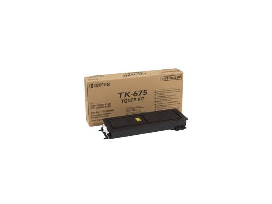 Картридж Kyocera TK-675 для KM 2540 3040 2560 3060 черный 20000стр new original transfer roller unit compatible for kyocera km 2540 2560 3040 3060 ta300i tr670 transfer unit