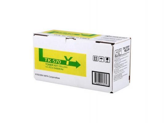 цена на Картридж Kyocera TK-570Y для FS C5400DN желтый