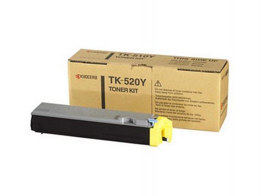 Картридж Kyocera TK-520Y для FS C5015N желтый 4000стр