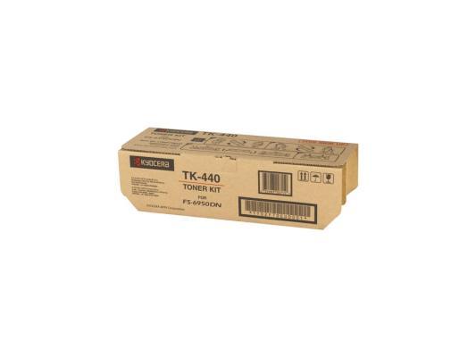 Картридж Kyocera TK-440 для FS 6950 черный 15000стр картридж kyocera tk 320 для fs 4000dn черный 15000стр
