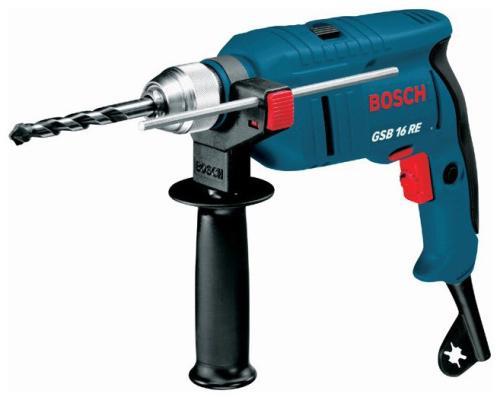 Дрель ударная Bosch GSB 16 RE БЗП
