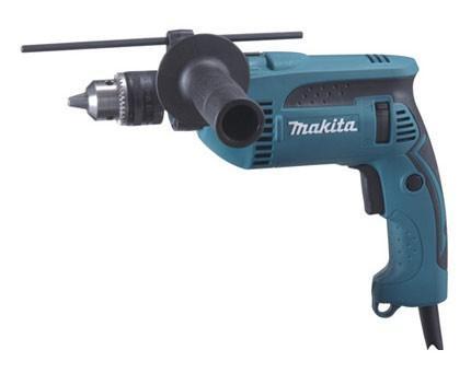 Ударная дрель Makita HP1640K 680Вт дрель ударная makita hp1640 680вт