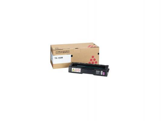 Тонер-картридж TK-150M 6 000 стр. Magenta для FS-C1020MFP тонер картридж kyocera mita tk 1140