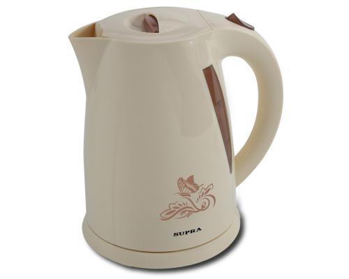 Чайник Supra KES-1705 2200 Вт бежевый 1.7 л пластик