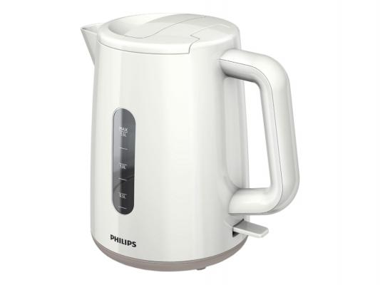 Чайник Philips HD9300 2400 Вт белый 1.5 л пластик чайник philips hd 4678 2400 1 2 л пластик белый