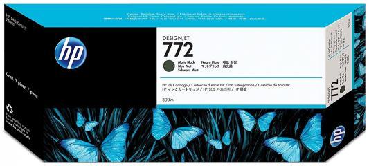 Картридж HP CN635A №772 для DJ Z5200 черный матовый картридж для принтера hp cn635a black