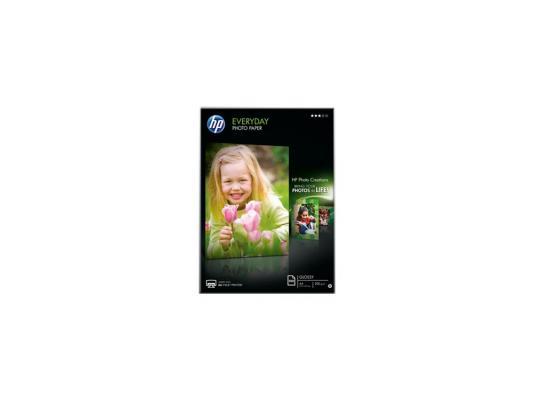 Фотобумага HP A4 200г/м2 полуглянцевая 100л Q2510A бумага maestro color pale a4 80g m2 100л blue mb30 102474