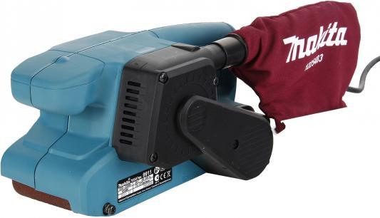 Ленточная шлифовальная машина Makita 9911K 650Вт + кейс шлифовальная машина makita bo6030