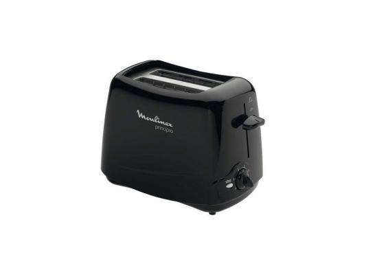 Тостер Moulinex TT110232 чёрный тостер moulinex tt1102 principio black