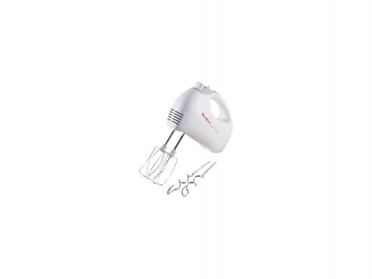 Миксер Moulinex HM41013E белый 450W moulinex me640832