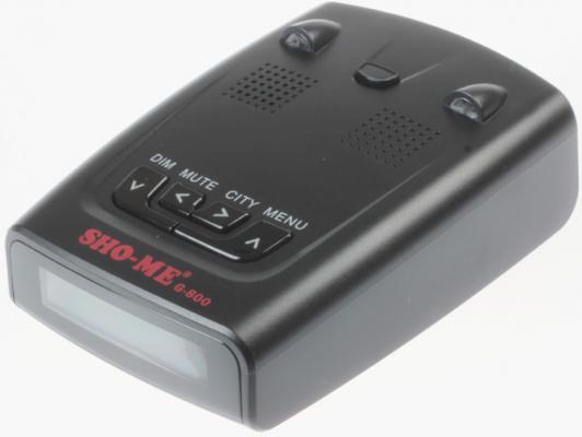 Радар-детектор Sho-Me G-800STR Стрелка красный