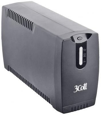 ИБП 3Cott 800VA-3SE 480W AVR 3*Shuko линейно-интерактивный