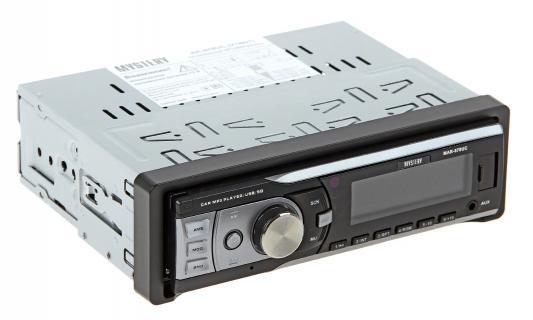 Автомагнитола Mystery MAR-878UC бездисковая USB MP3 FM SD MMC 1DIN 4x50Вт черный