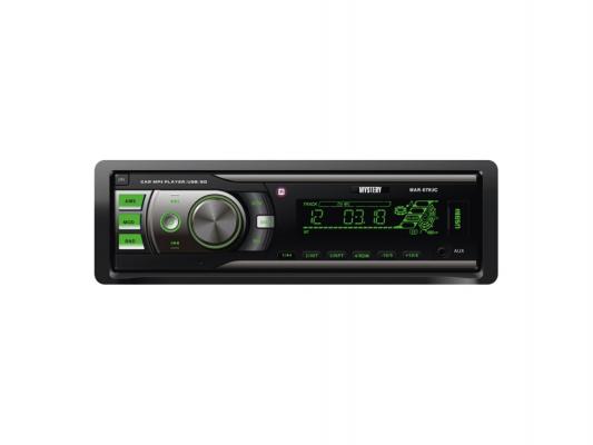 Автомагнитола Mystery MAR-878UC бездисковая USB MP3 FM SD MMC 1DIN 4x50Вт черный автомагнитола rolsen rcr 100g бездисковая usb mp3 fm sd mmc 1din 4x45вт черный