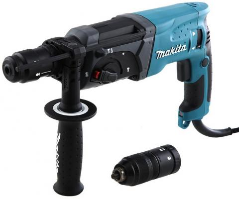 Фото Перфоратор Makita HR2470FT SDS-Plus 780Вт БЗП
