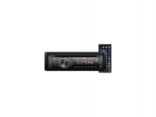 Автомагнитола Mystery MMD-566U USB CD MP3 DVD SD MMC 1DIN 4x50Вт пульт ДУ черный