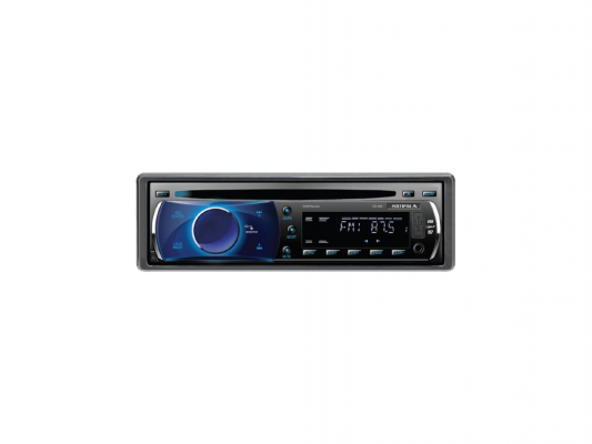 Автомагнитола Supra SCD-400U USB CD MP3 SD MMC 1DIN 4x50Вт черный