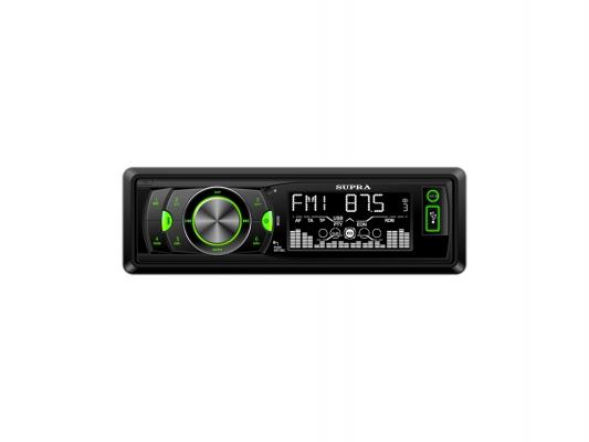 Автомагнитола Supra SFD-1224U бездисковая USB MP3 FM SD MMC 1DIN 4x50Вт пульт ДУ черный