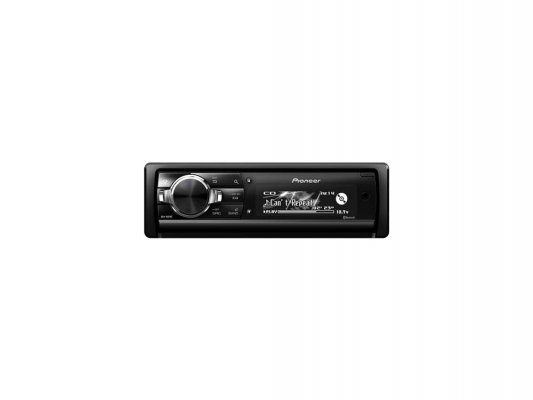 Автомагнитола Pioneer DEH-80PRS USB MP3 CD FM RDS SD MMC SDHC 1DIN 4x50Вт черный