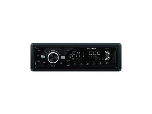 Автомагнитола Supra SFD-1013DCU USB MP3 FM SD MMC без CD-привода 1DIN 4x70Вт черный