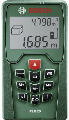 Лазерный дальномер Bosch PLR 25 цена в Москве и Питере