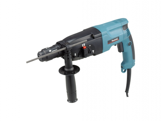 Перфоратор Makita HR2450FT SDS Plus 780Вт + кейс  перфоратор hr 2440 780 вт 2 7 дж sds plus makita