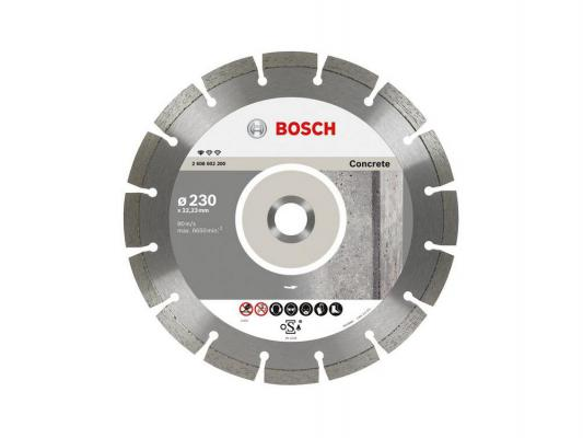 Алмазный диск Bosch Professional for Concrete 125х22.23мм по бетону